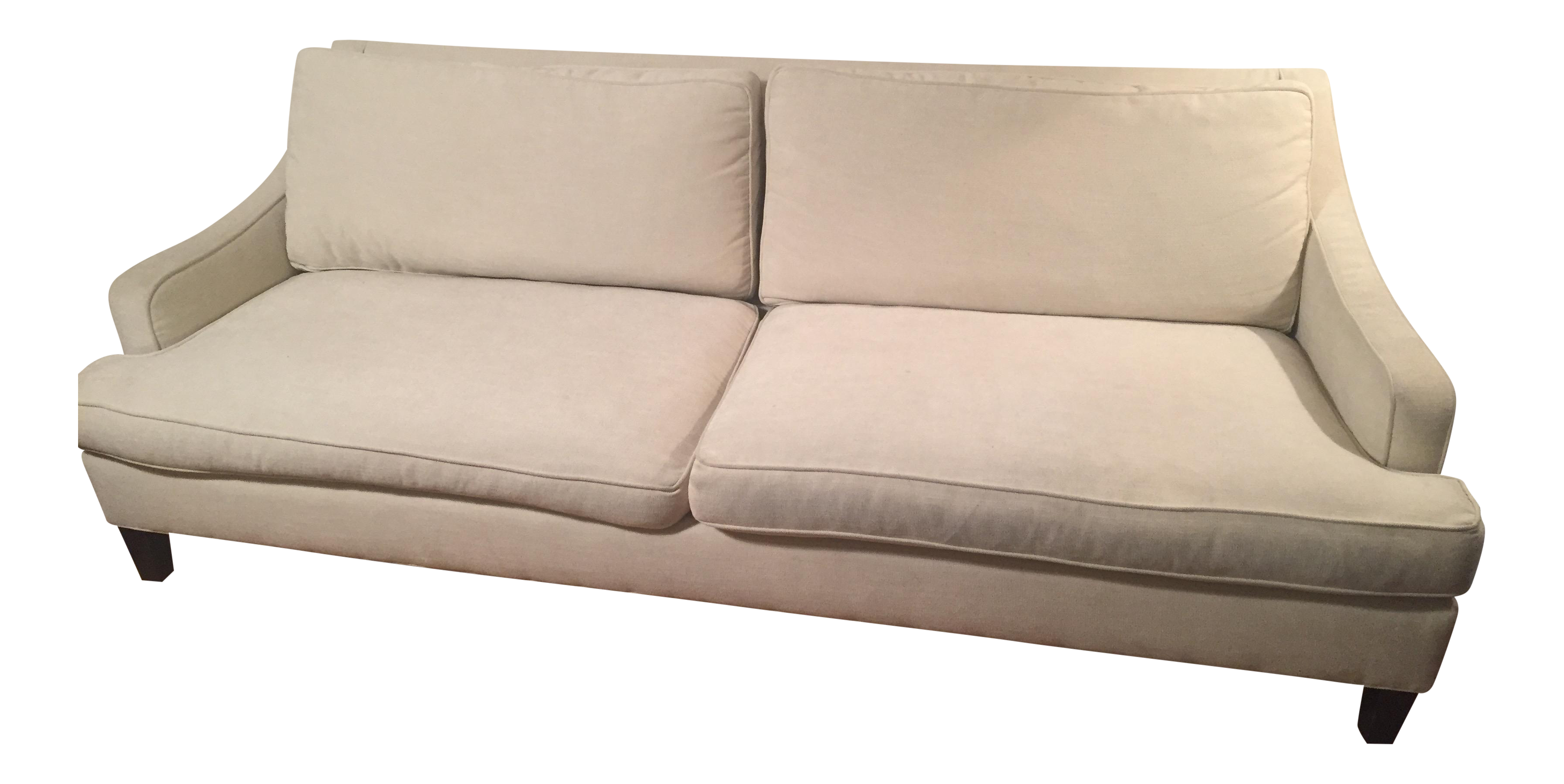Pottery Barn Carlisle Upholstered Sofa Chairish