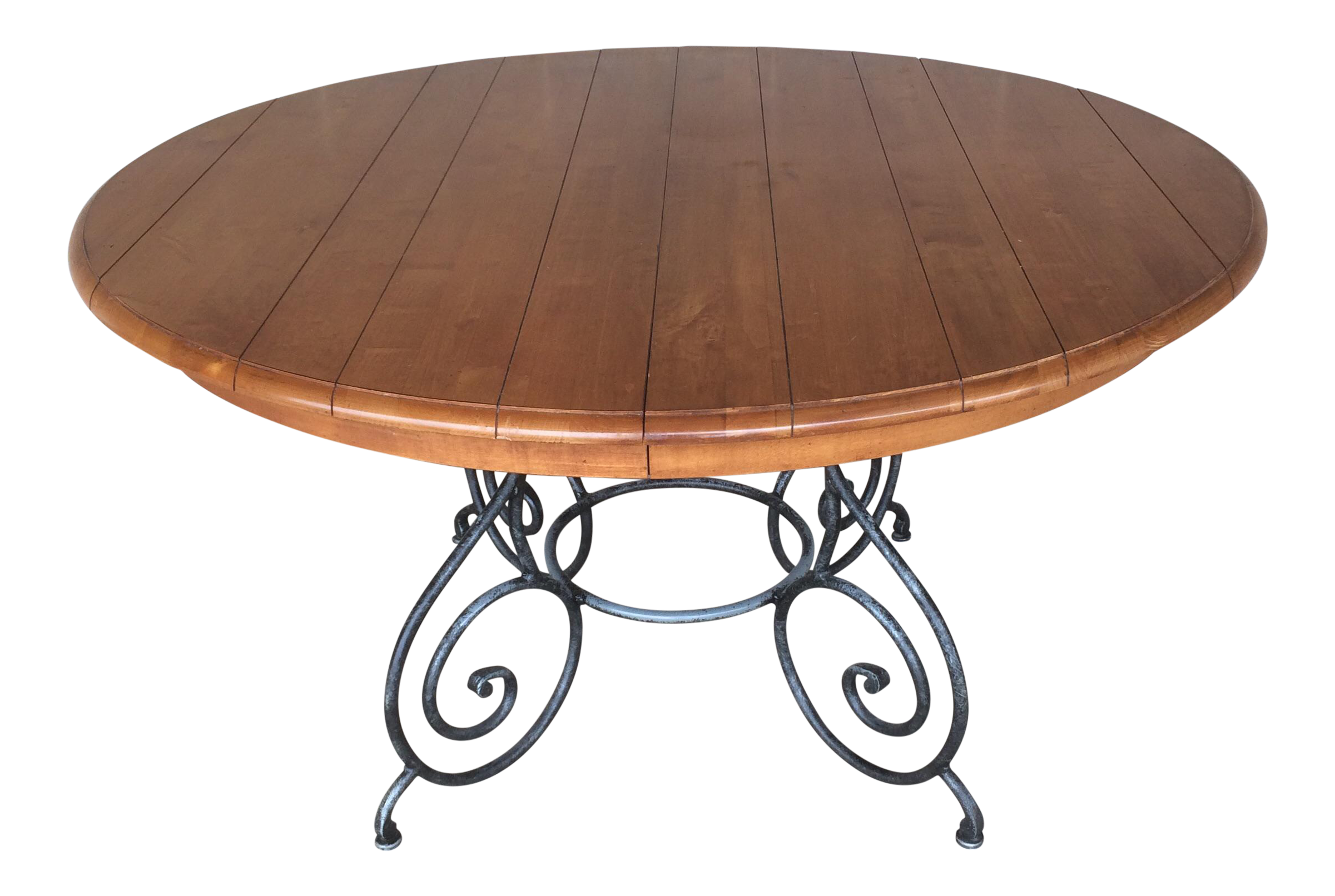 ethan allen legacy maple dining table chairish