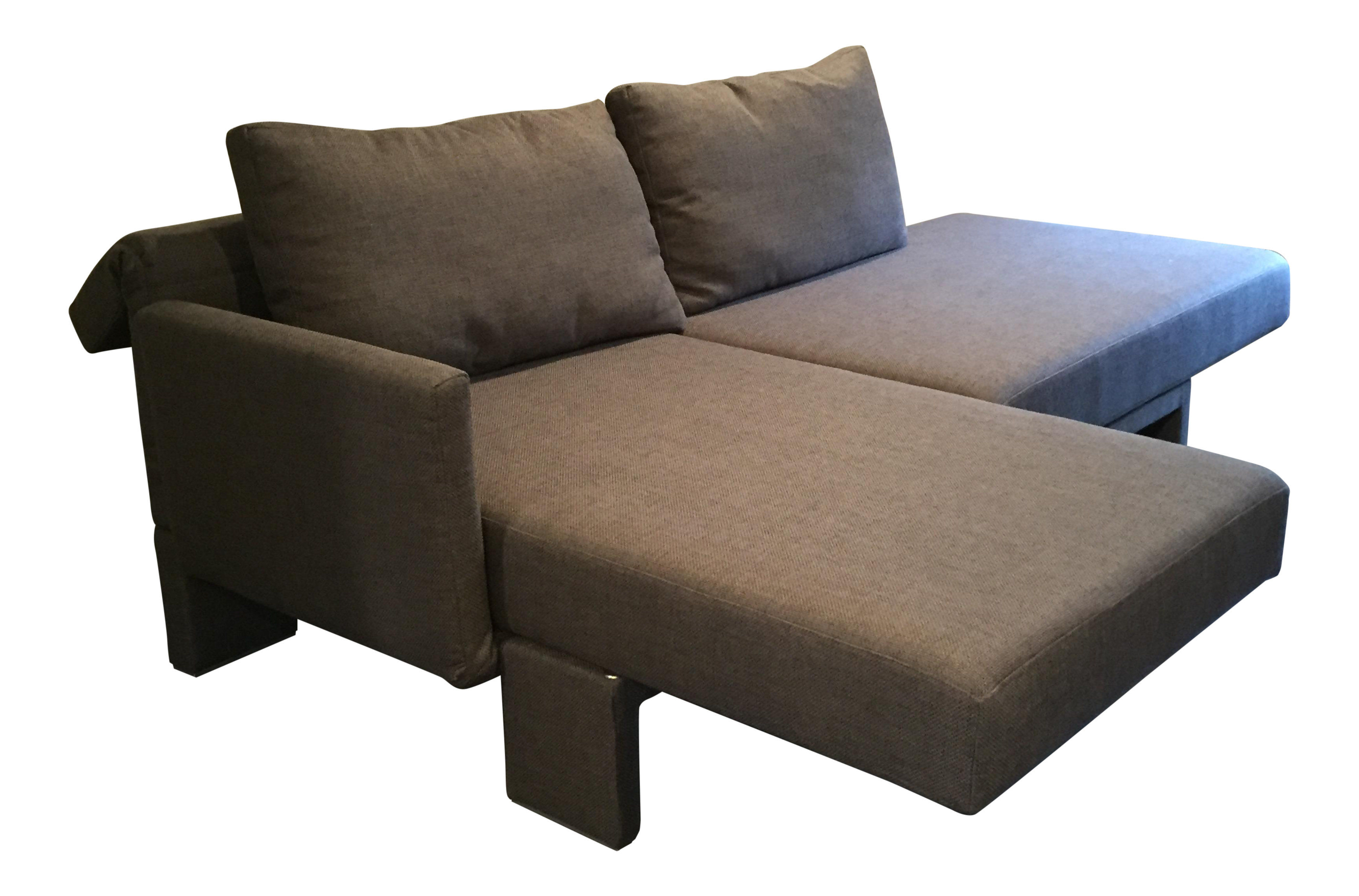 franz fertig sectional sofa chairish. Black Bedroom Furniture Sets. Home Design Ideas