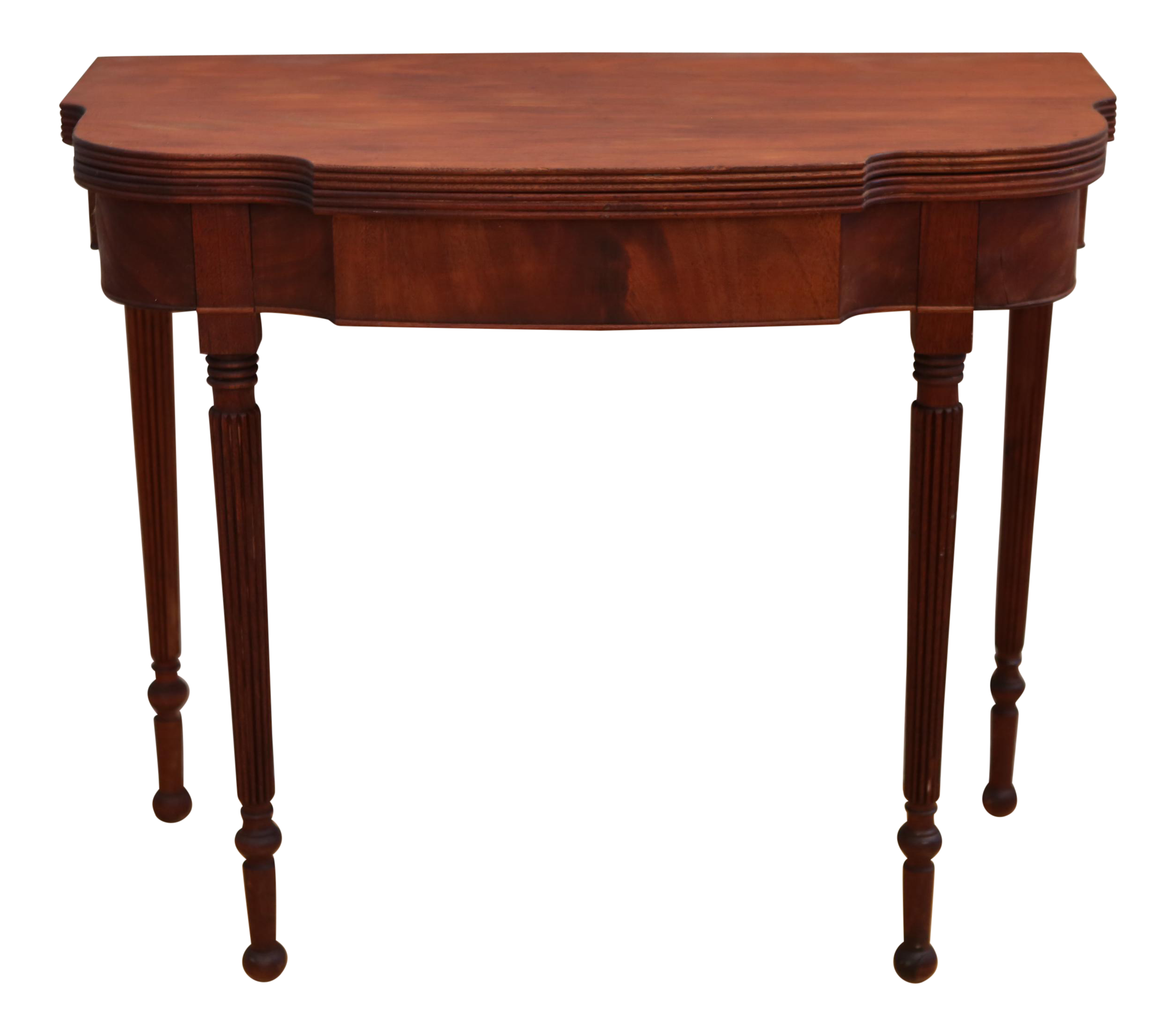 2 in 1 vintage convertible table console to dining table chairish. Black Bedroom Furniture Sets. Home Design Ideas