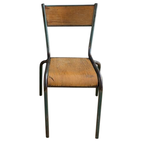 Mullca 510 french schoolhouse chair chairish for Chaise mullca 510