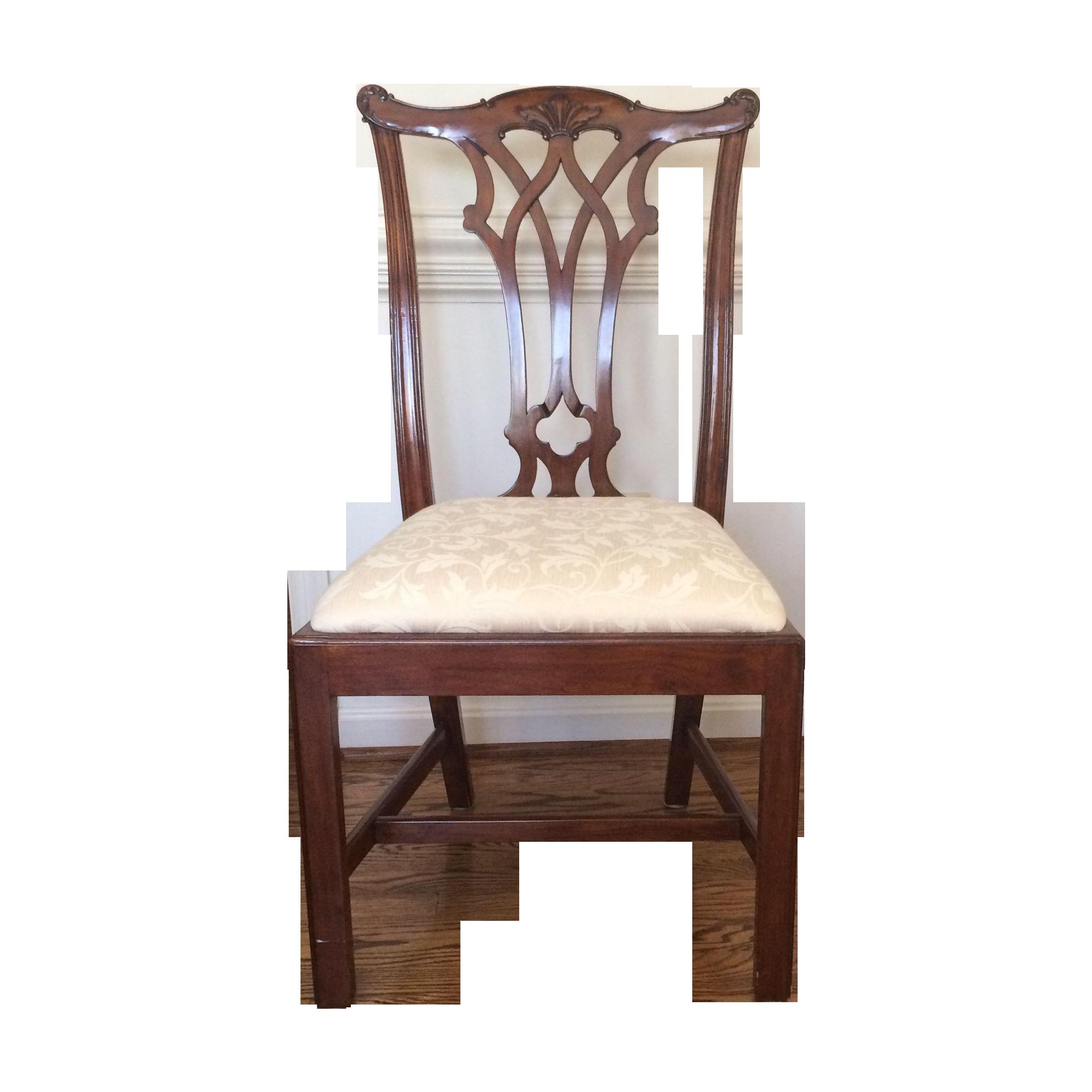 Random Harvest Cherry Ribbon Back Side Chair Chairish