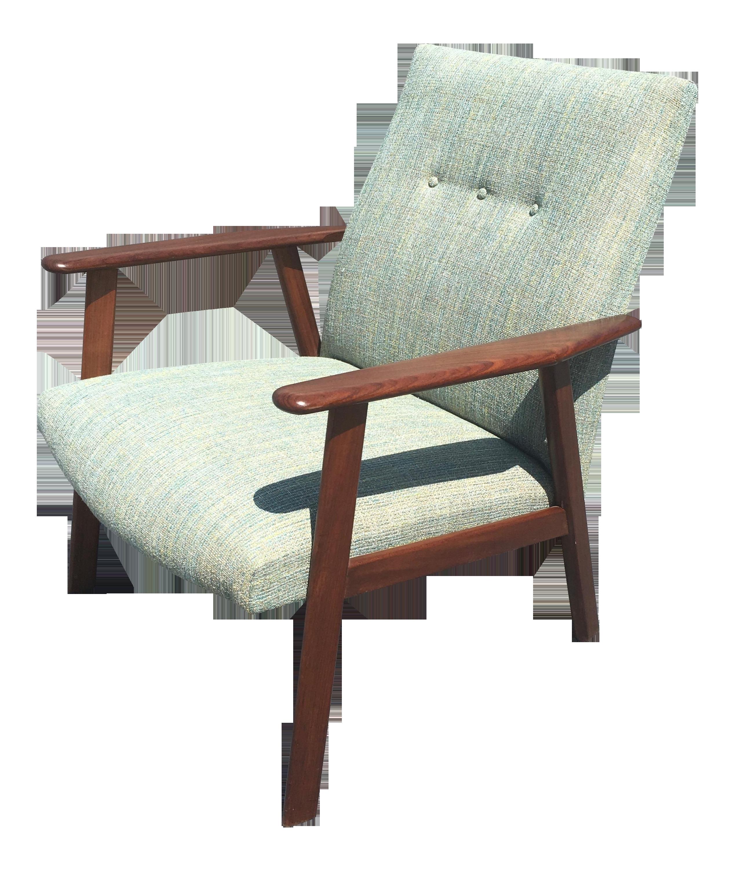 Mid Century Danish Modern Teak Lounge Chair Chairish
