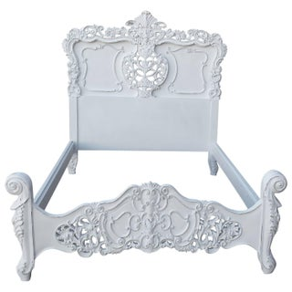 French Louis XV Style Bed Frame