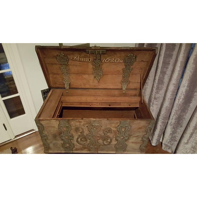 Image of 17th Century Iron Banded Coffer