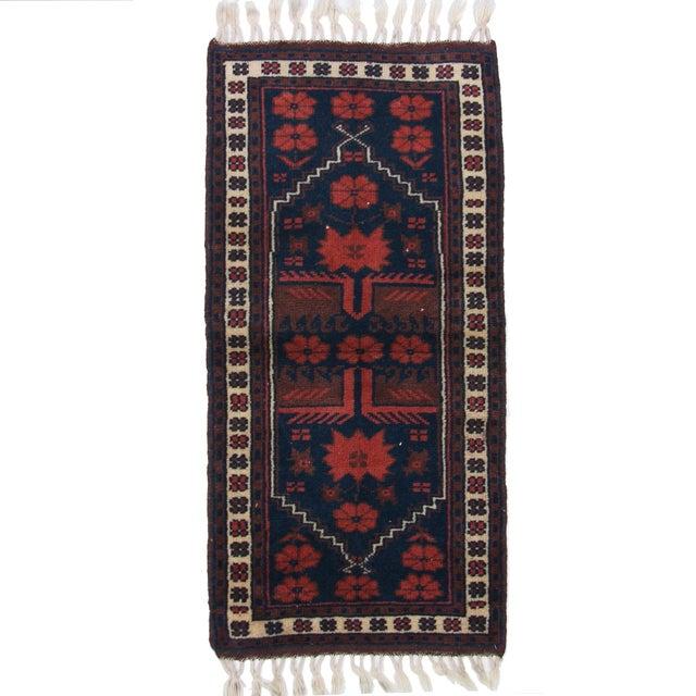 "Vintage Kurdish Carpet - 1'8"" X 3'6"" - Image 1 of 2"