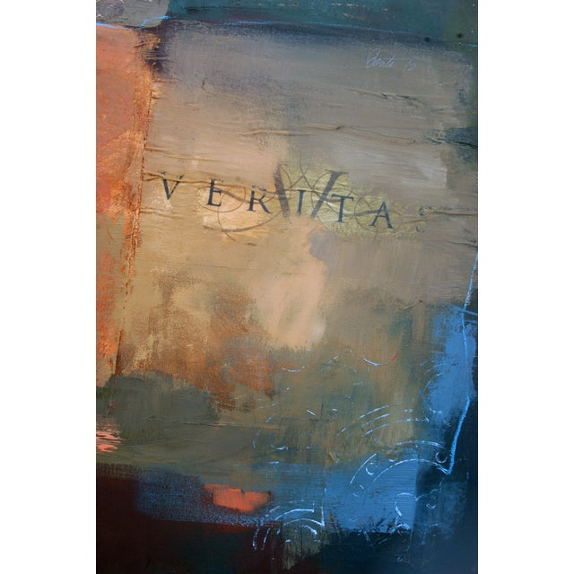 Image of Abstract Painting, Veritas & Queen of Spades