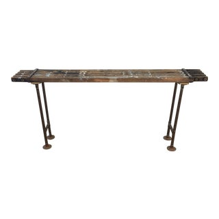 Antique Scaffolding Table
