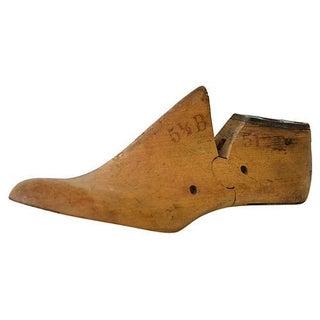 Vintage Cobbler's Wood Shoe Form