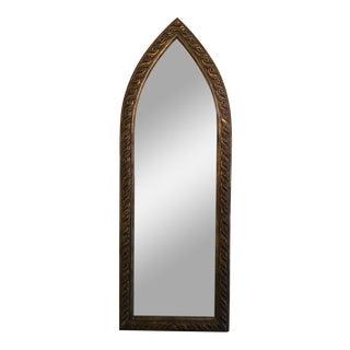 Vintage Carved Wood Framed Mirror