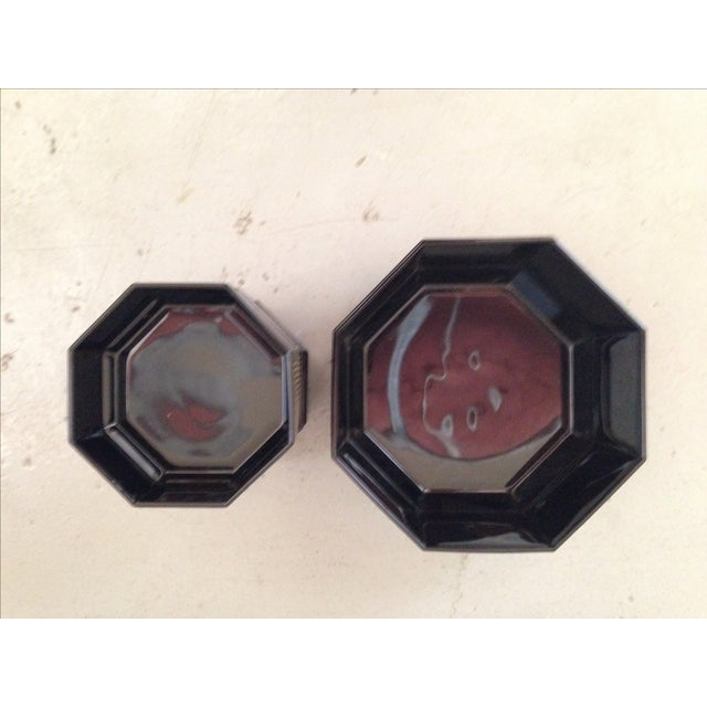 Image of French Deco Geometric Bowls - Set of 5