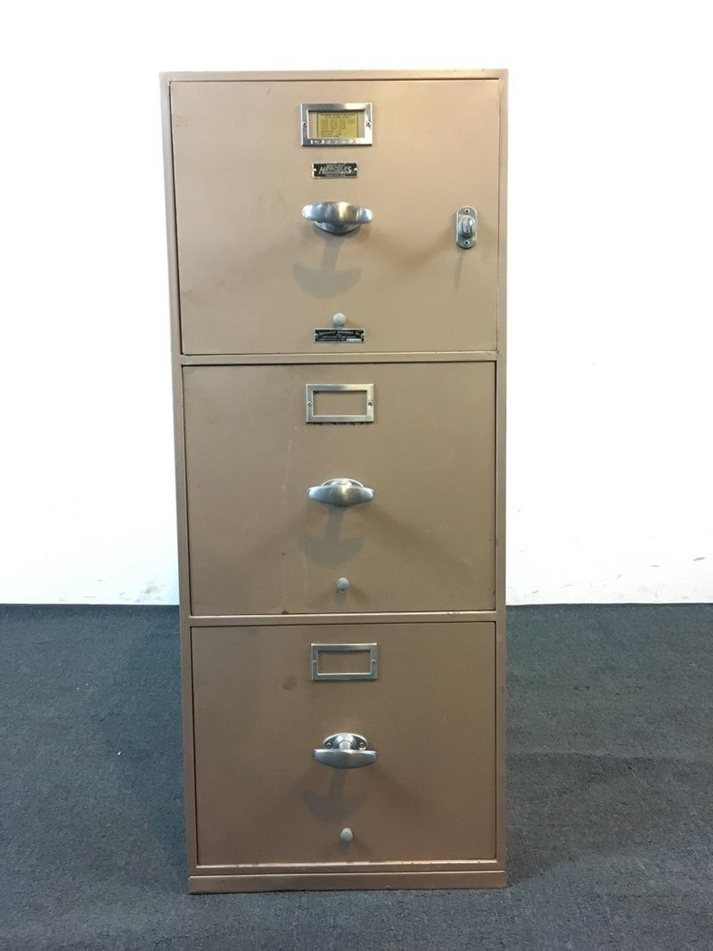 Meilink Built Hercules One Hour Insulated 3 Drawer Filing Cabinet   Image 2  Of 9