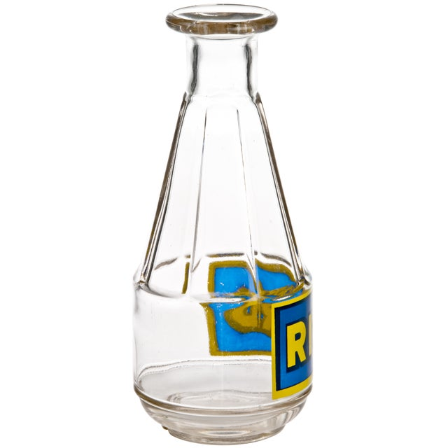 Image of Vintage French Ricard Glass Carafe
