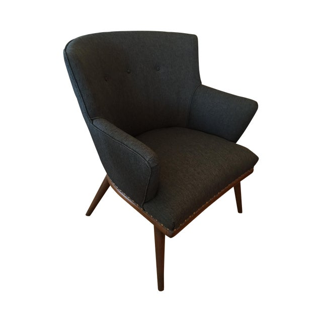 50's J.B. Van Sciver Chair & New Knoll Upholstery - Image 1 of 7
