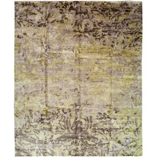"""Contemporary Hand Knotted Area Rug - 8'1"""" X 9'10"""""""