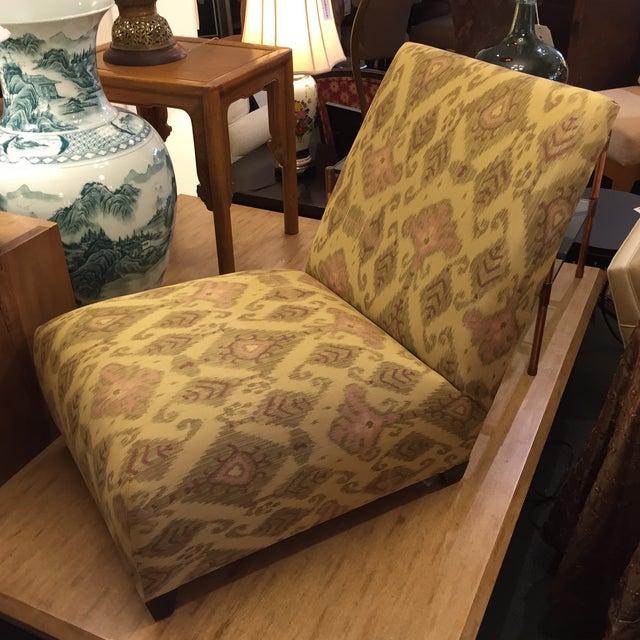 Donghia Villa Custom Ikat Chair - Image 4 of 11