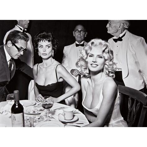 Heidi Klum (as Jayne Mansfield), New York, black and white photography print by Mark Seliger - Image 3 of 3