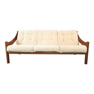 Domino Mobler Danish Modern Teak Sofa