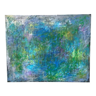 "Jenny Vorwaller ""Fields"" Abstract Painting"