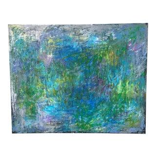 "Jenny Vorwaller ""Fields"" Abstract Paintin"