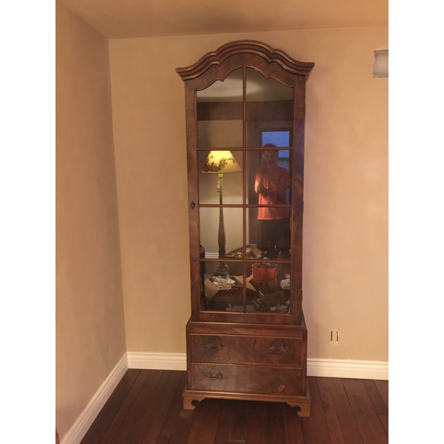 Italian Walnut Cabinet With Drawers - Image 2 of 7