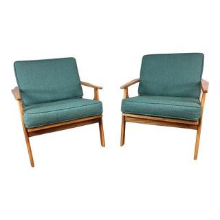 Danish Lounge Chair - A Pair