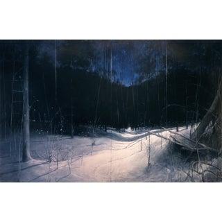Original Winter Landscape Painting