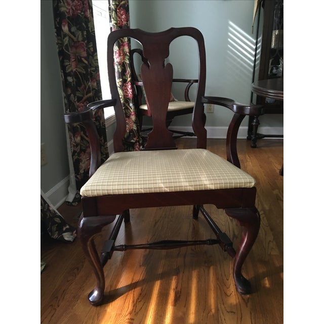 Fiddle Back Dining Chairs - Set of 8 - Image 3 of 10