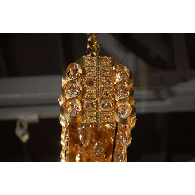 Image of Lobmeyr Crystal and Gold Pendant
