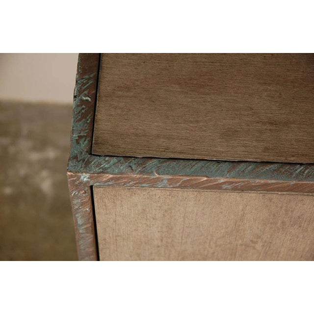 Paul Marra Bookcase in Faux Bronze - Image 6 of 8