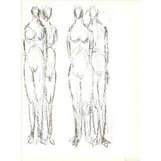 Rodolphe Raoul Ubac, Deux Couples, 1966 Lithograph