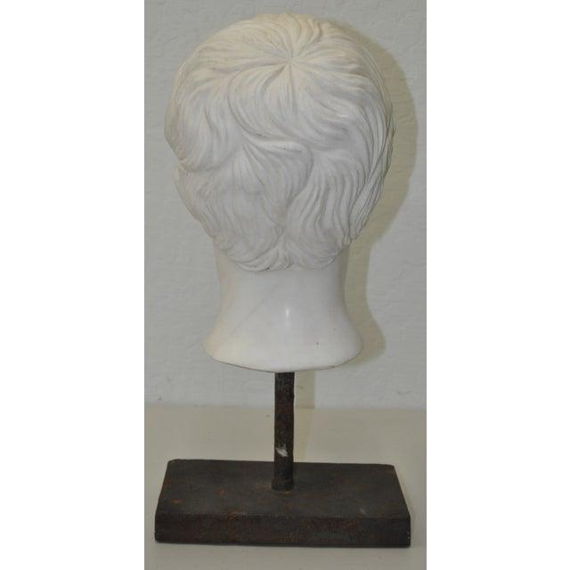 Italian Marble Roman Bust C.1950 - Image 6 of 6
