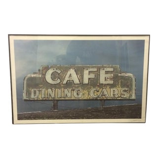 Vintage Dining Sign Print