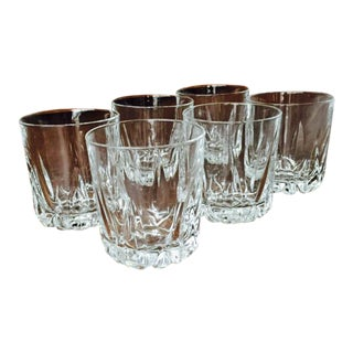 Royal Doulton Crystal Whiskey Glasses - Set of 6