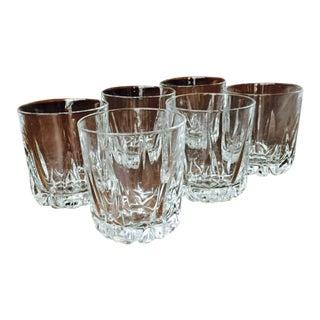 Royal Doulton Crystal Whiskey Glasses - Set of 6