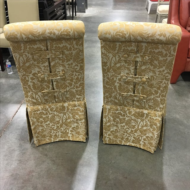 Ornate Accent Chairs - A Pair - Image 3 of 5