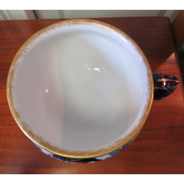 Image of Vintage Vernon England Soup Tureen or Bowl
