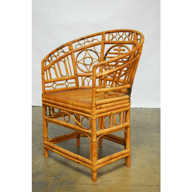 Brighton Pavilion Style Chinoiserie Chairs - Pair - Image 3 of 9