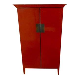 Red Storage Cabinet
