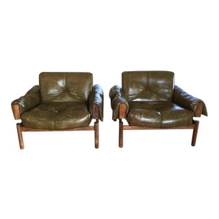 Percival Lafer Mid-Century Lounge Chairs - A Pair