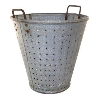 Vintage Olive Bucket