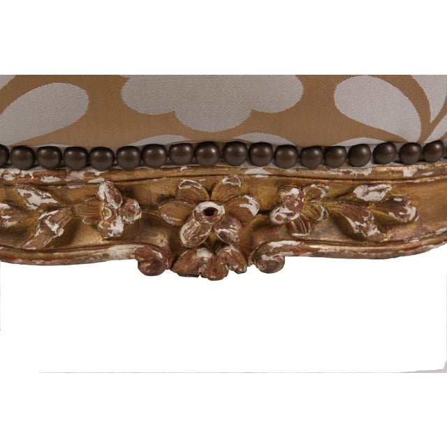 French Antique Napoleon III Armchair - Image 7 of 7