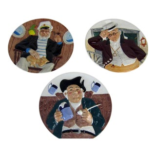 Davenport 3D Collectible Plates - Set of 3