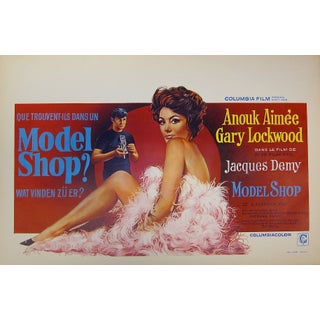 """Model Shop"" Belgian Film Poster"
