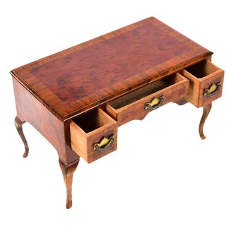 19th C. Antique Miniature Chippendale Desk