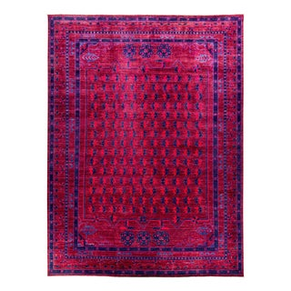 """New Hand Knotted Area Rug - 9'1"""" x 12'1"""""""