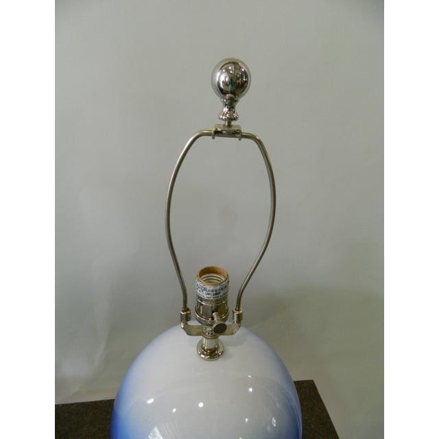 Blue & White Catalina Table Lamp - Image 3 of 5