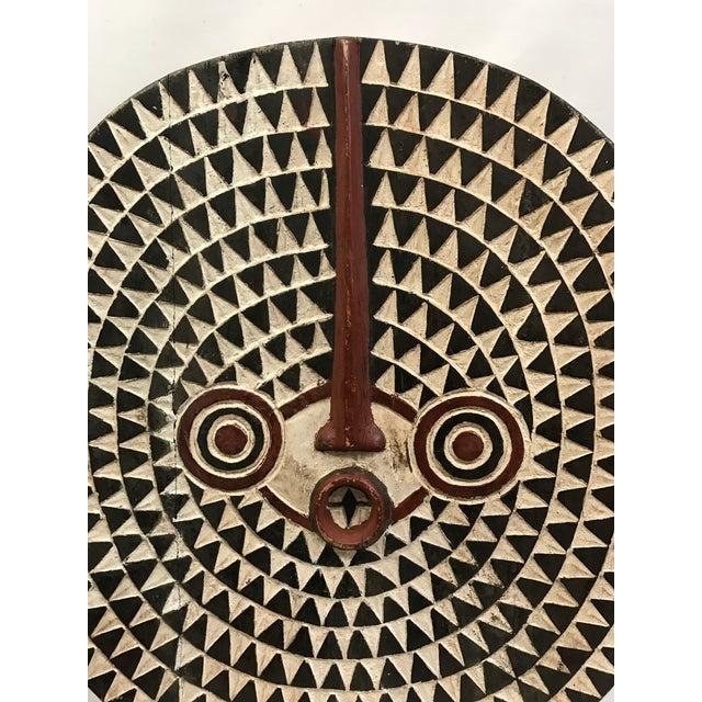 Image of African Tribal Art Large Plank Bwa Mask