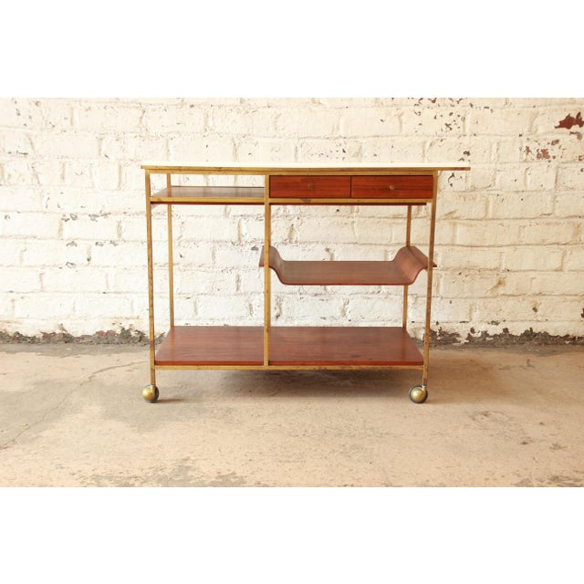 Paul McCobb for Calvin Irwin Collection Bar Cart - Image 2 of 11