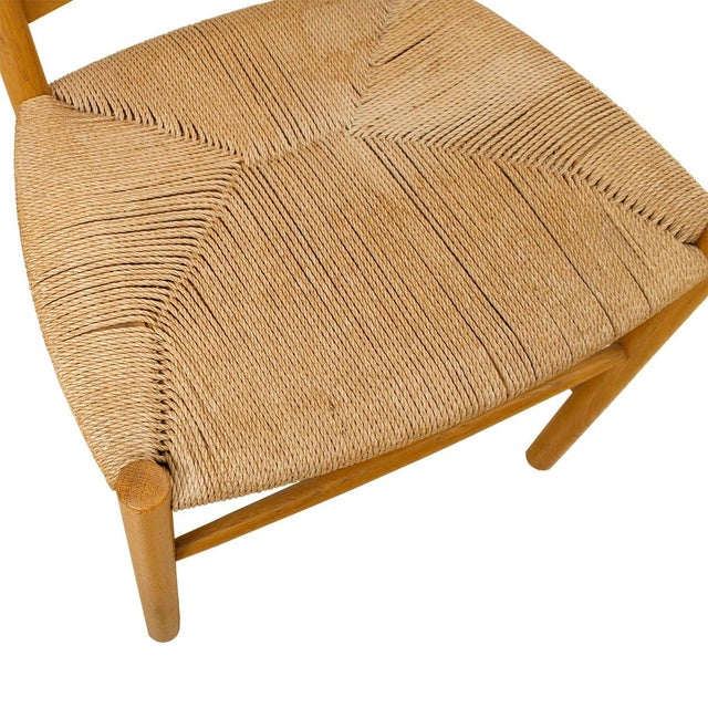 Kaare Klint's 'Church' Chairs with Cord - Set of 6 - Image 4 of 5